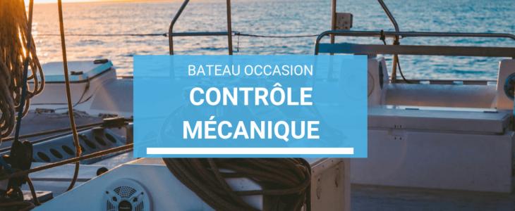 contrôle mécanique pour bateau d'occasion