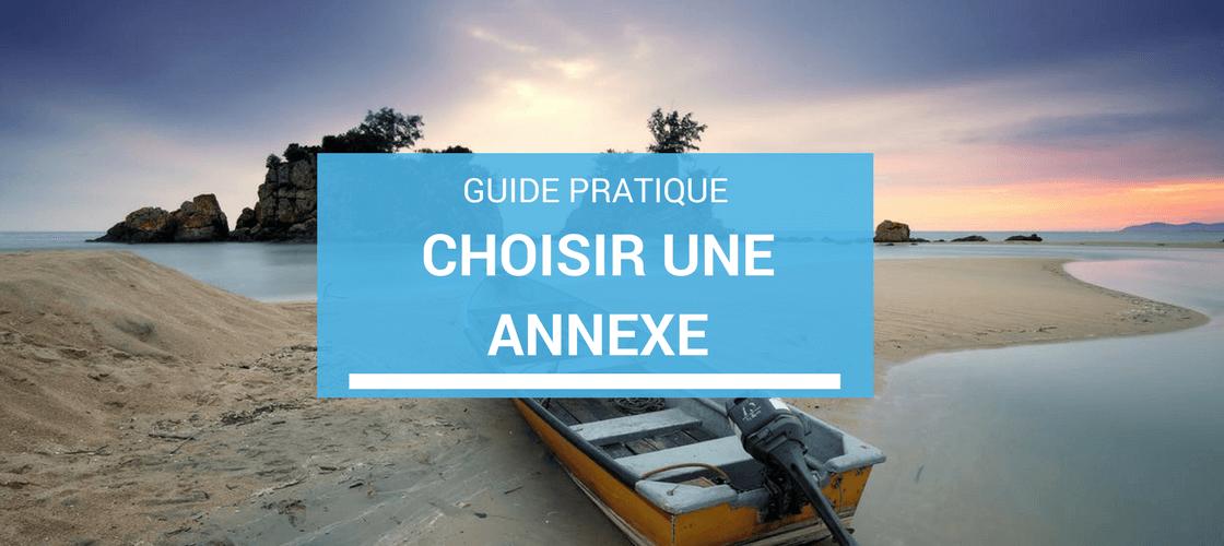 Choisir une annexe pour son bateau